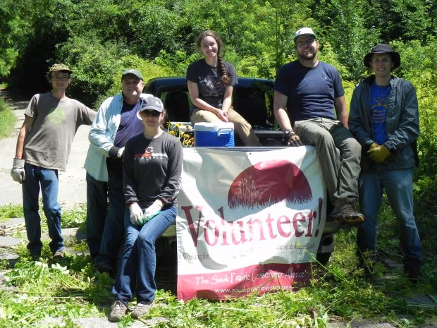 Volunteer Stewardship Day at Badger