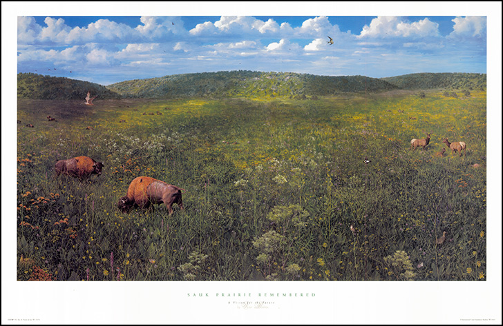 Sauk Prairie Remembered: A Vision for the Future (Artist: Victor Bahktin)
