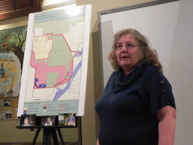 Large Crowd Learns of Landowner Activities at Badger