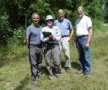 Alliance Volunteers Helping DNR Mark Trails at Badger