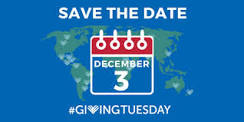 Giving Tuesday December 3rd!
