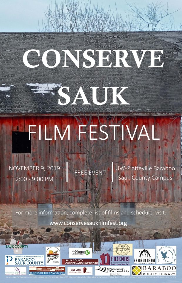 "Alliance Film wins ""Fans' Favorite"" award at Conserve Sauk Film Festival"